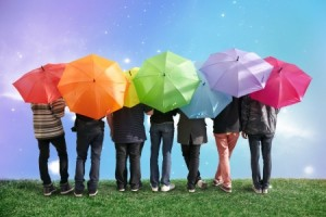 colourful umbrellas | Inner Coaching | images