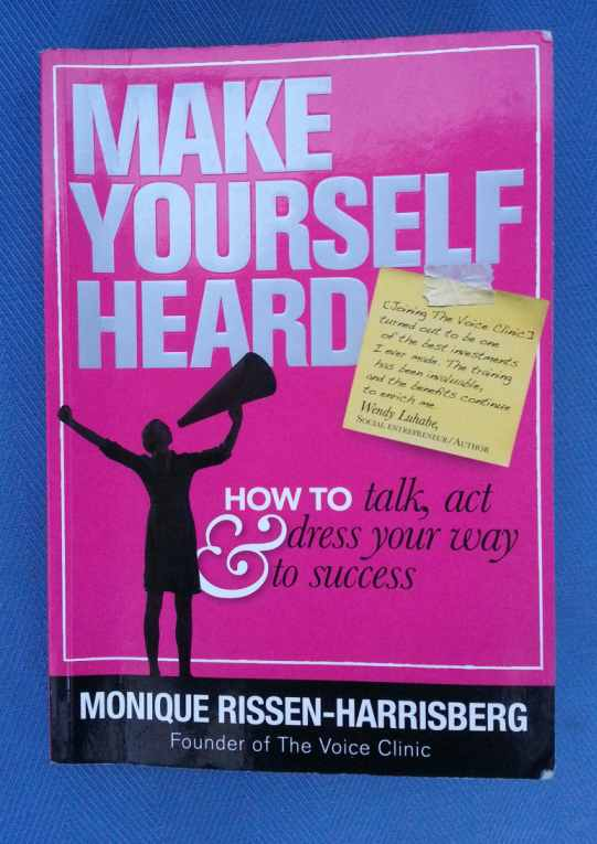 How To Make A Book Yourself : Book review of make yourself heard