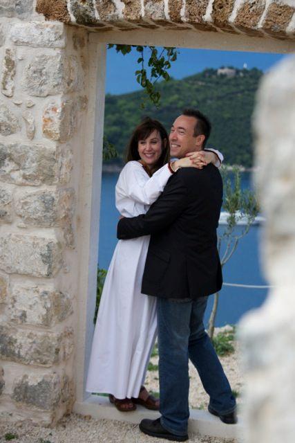 Getting married in Dubrovnik, Croatia.