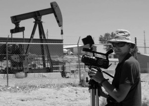 Making the documentary about fracking