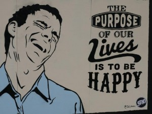 Finding purpose and freedom leads to happiness