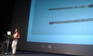 Telana offers a keynote talk about one matchstick