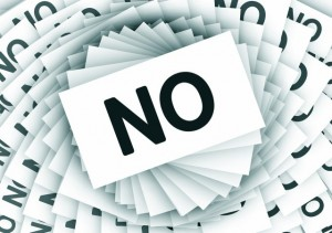 Saying no is a very powerful resource that we have